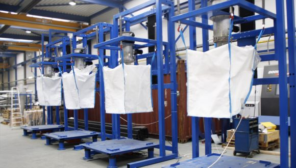 Big Bag filling station manufacturing