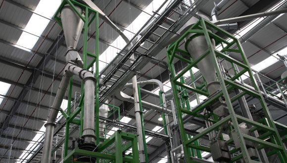 HDPE recycling and PET