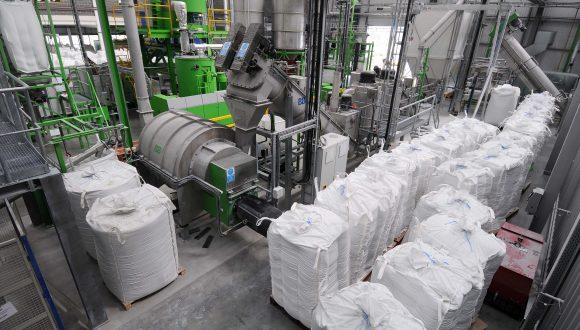 HDPE and PET washing line B+B Anlagenbau