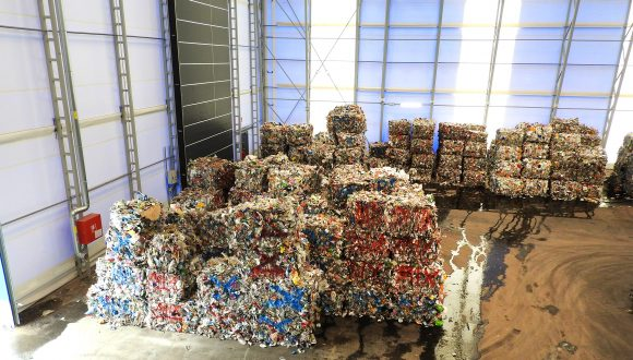 PE and PP waste recycling plant