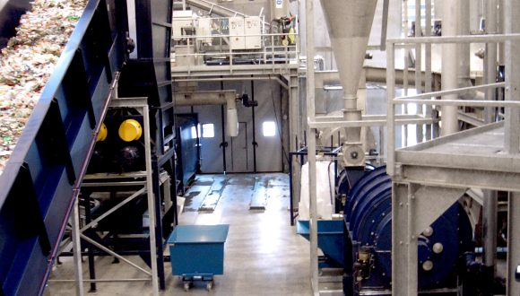 PET recycling plant for URRC process