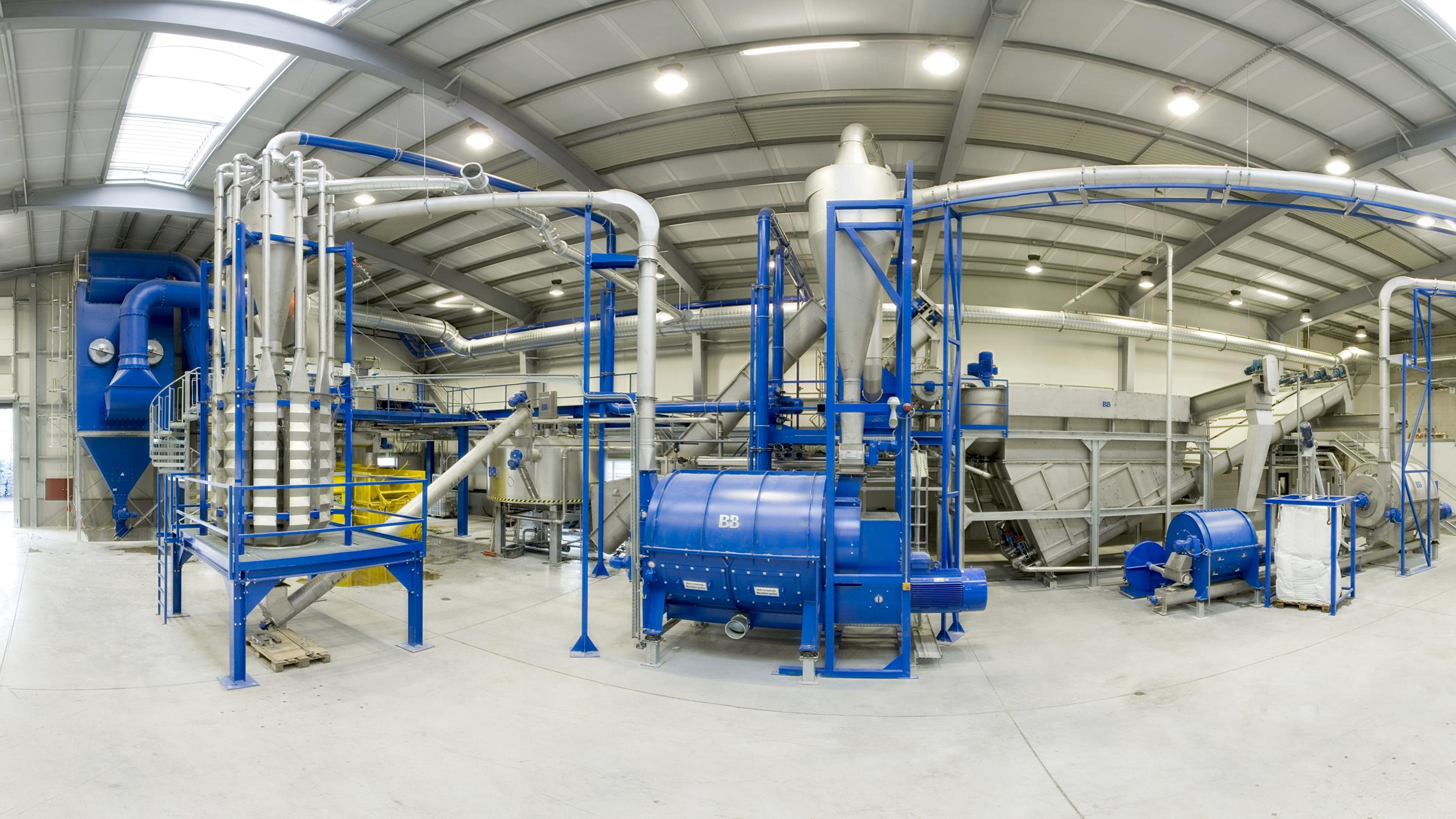 Pet Bottle Recycling And Washing Plant B B Anlagenbau