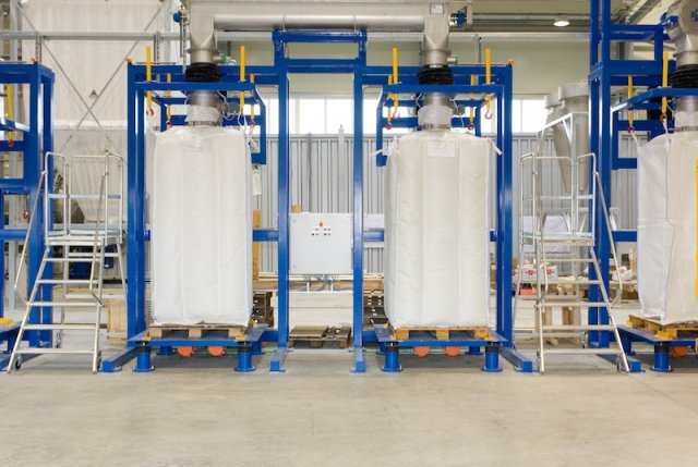 Big Bag Filling Station For Plastic Recycling Plants B B