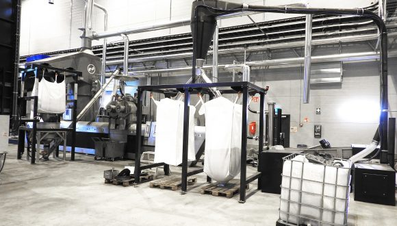 automatic big bag filling station