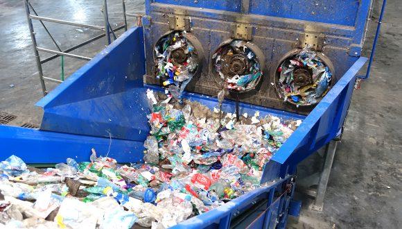 debaler plastic recycling