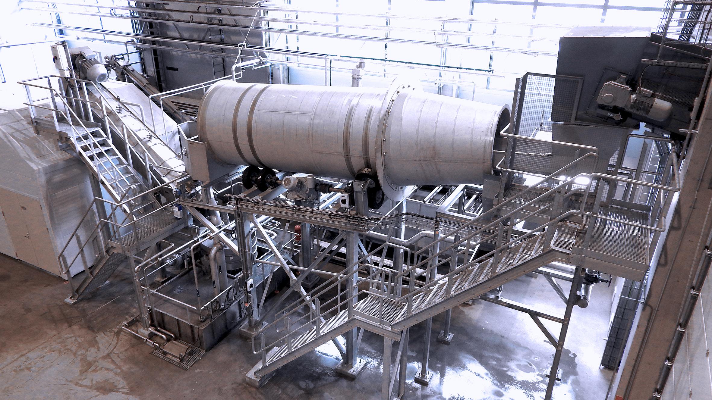Installation de recyclage combiné pour PE, PP, LDPE, LLDPE