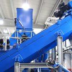 Reibungsabscheider Schnellreinigungsmaschine für Kunststoffe