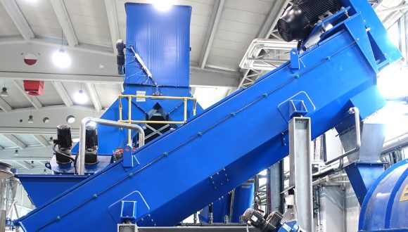 friction separator high-speed cleaning machine for plastics