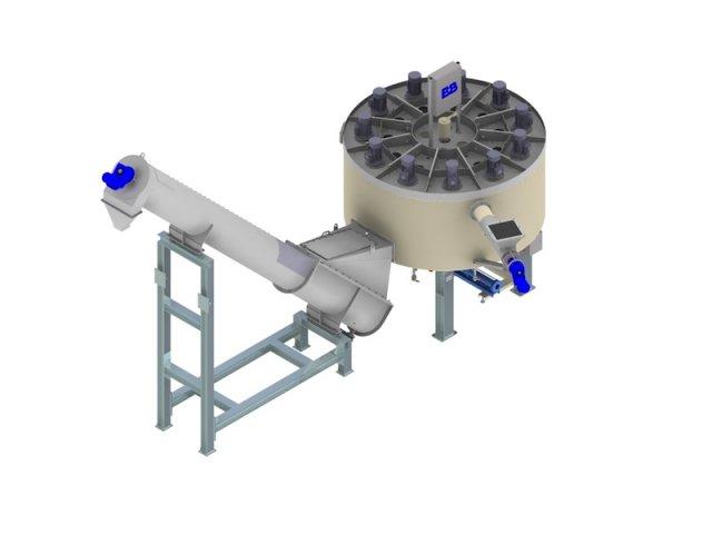 3D-Modell Kunststoff-Heißwaschanlage