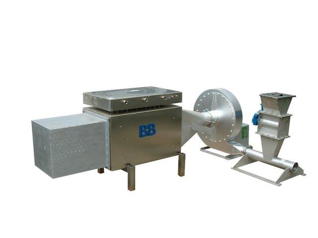 Thermotrockner Kunststoffrecycling