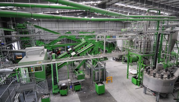 turnkey recycling plant