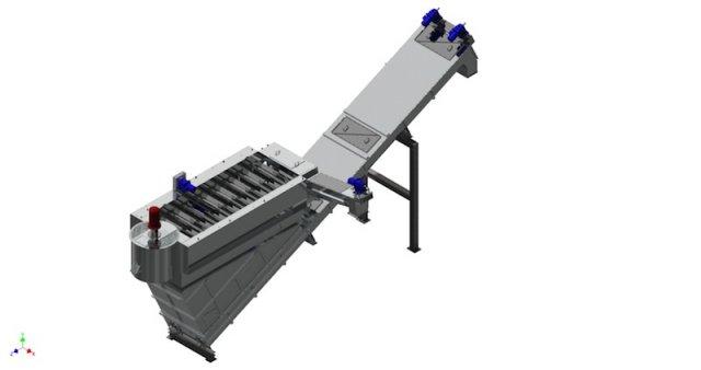 3D-Modell Trenntank