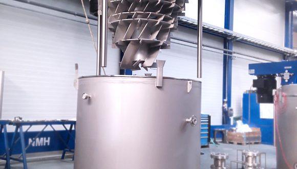 Trockenmaschine für das Kunststoffrecycling