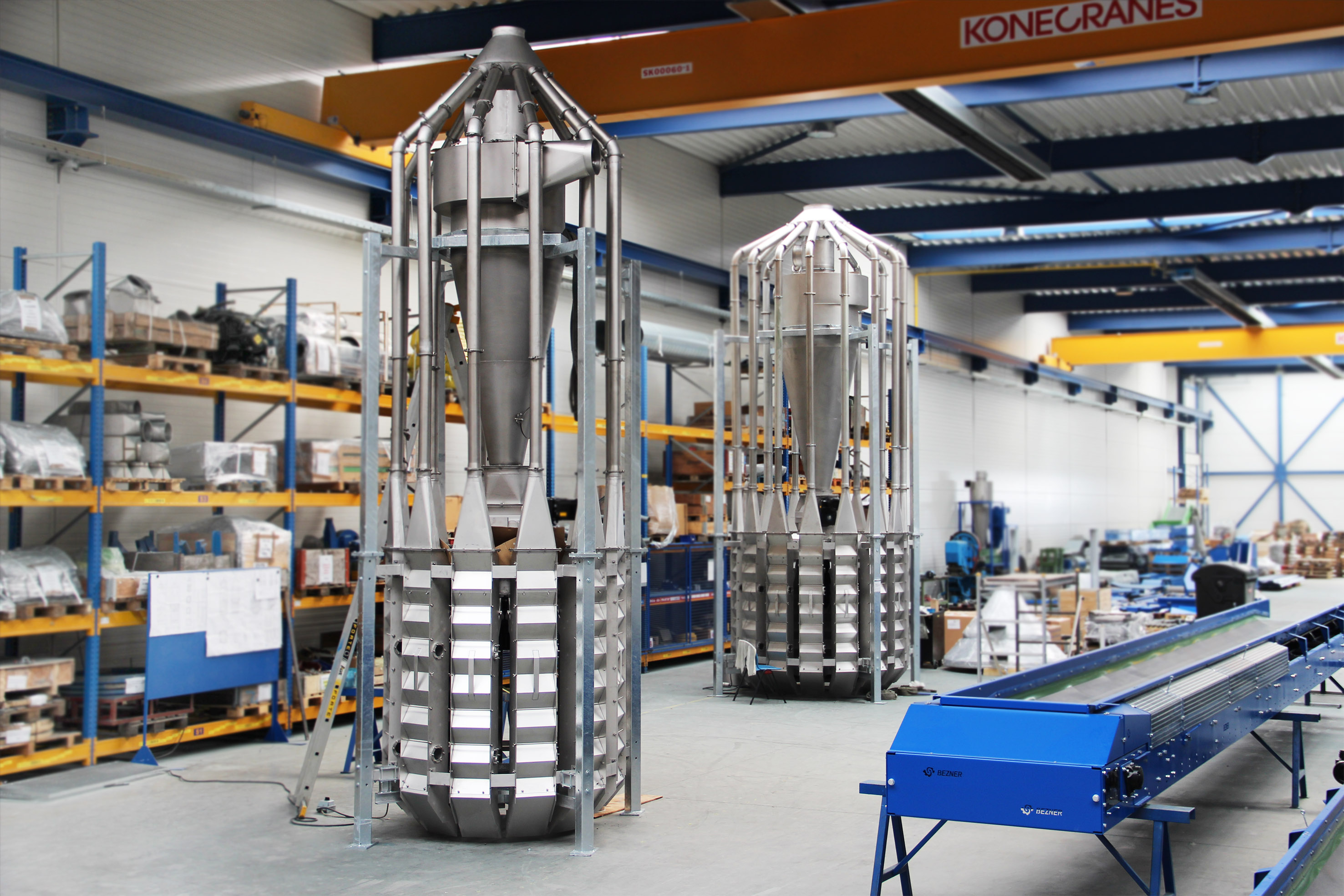 zig zag air stream separator manufacturer